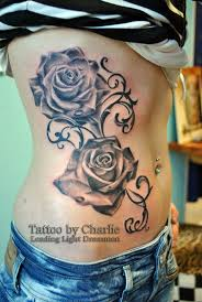 rose feminine tattoo designs photos pictures and sketches