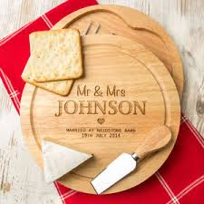 personalized cheese platter personalised cheese boards and knives notonthehighstreet