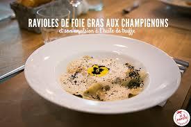 cuisiner des ravioles ravioles de foie gras aux chignons je papote