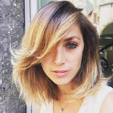 lob hair with side fringe 50 classy short bob haircuts and hairstyles with bangs