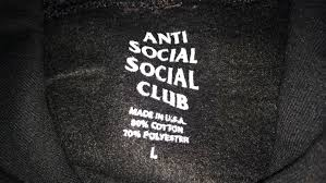 review anti social social club assc black hoodie fashionreps