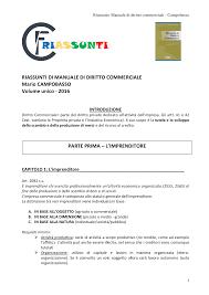 dispense diritto commerciale cobasso riassunto manuale di diritto commerciale cobasso volume unico