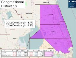 how florida u0027s congressional districts voted and the impact of