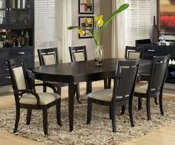 simple dining room ideas dining room simple black dining room idea on fur rug and
