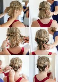 Hochsteckfrisurenen Zum Nachmachen Kurze Haare by Die Besten 25 Hochsteckfrisuren Für Kurze Haare Ideen Auf