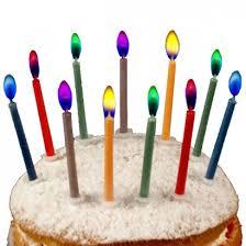 amazing birthday candle colour birthday cake candles