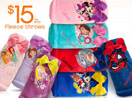 disney fleece blankets for 15 with free personalization