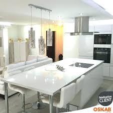 cuisine avec ilots central ilot central blanc ilot central cuisine moderne design idee