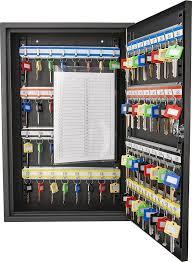 Key Storage Cabinet 64 Key Storage Cabinet Safe Wall Mount Lock Box Hook Organizer