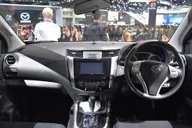 Nissan Navara Black Edition Dashboard At 2017 Bangkok