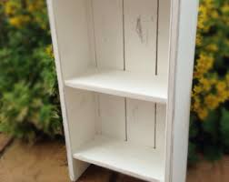 rustic bookcase etsy
