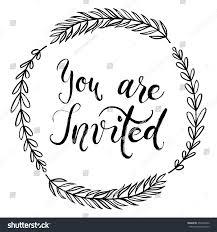 Printable Invitation Card Stock You Invited Party Invitation Card Vector Stock Vector 452246956