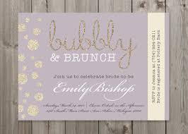brunch invites bubbly brunch chagne bridal shower by gaiadesignstudios