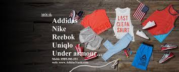 Bán bu´n sá ‰ quần áo thá ƒ thao Reebok Adidas Nike Uniqlo Reebok