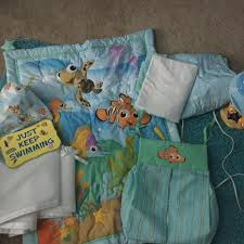Finding Nemo Crib Bedding Best Finding Nemo Complete Nursery Set Includes Stacker