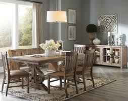 Dining Room Furniture Maryland by Willoughby Weathered Barley Rectangular Extendable Dining Table
