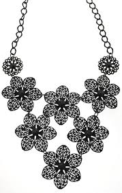 black costume necklace images Robert rose vintage costume jewellery kaleidoscope effect jpg