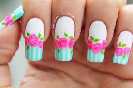 imagenes de rosas vintage decoración de uñas rosas vintage vintage roses nail art youtube