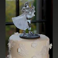 glass wedding cake toppers divers gifts and collectables