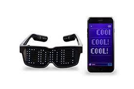 amazon com chemion unique bluetooth led glasses display