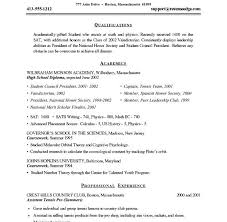Example College Application Resume by Best Photos Of College Admission Resume For High Sample