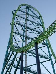 Bizarro Six Flags Great Adventure The 21 Most Terrifying Roller Coasters In America