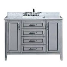 Ove Vanity Costco Ove Decors Daniel 48 In Vanity In Gray With Marble Vanity Top In