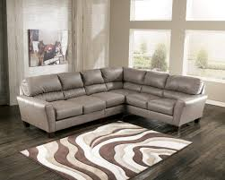 living room furniture modern leather sectional sofas and high