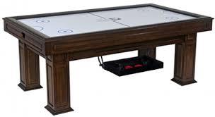 air hockey table over pool table 7 landon air hockey table