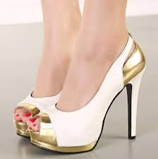 wedding shoes office white gold women stiletto heels wedding shoes high heels peep