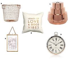 Rose Home Decor by Craving Copper U2013 A Home Decor Wish List Victoria Jay Life