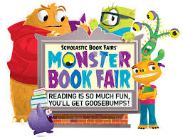 monster book fair reading fun u0027ll goosebumps