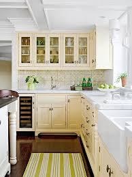 what color goes with yellow kitchen cabinets yellow color schemes kitchen cabinet color schemes