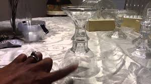 Dollar Tree Vases Centerpieces Dollar Tree Diy Candleholders Gold Or Silver Youtube