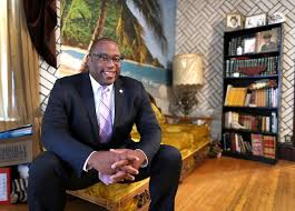 tito jackson the sum total of those who love him the boston globe boston mayoral candidate tito jackson in his living room