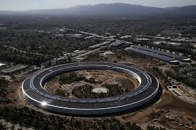 new apple park drone footage shows off the sprawling new spaceship