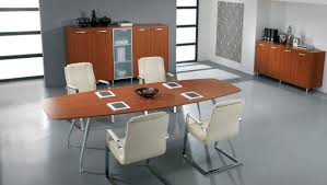 Office Conference Table Mesmerizing Office Conference Table Boat Shape Cherry Finish