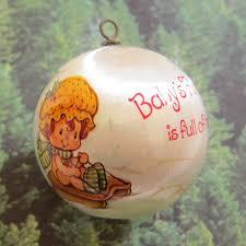 baby s 1983 strawberry shortcake tree ornament