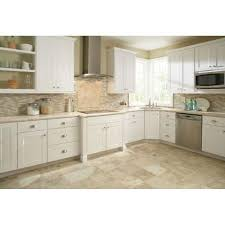home depot shaker cabinets shaker pantry cabinets in white kitchen the home depot