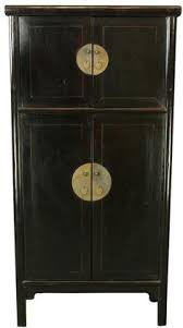 Asian Style File Cabinet Silver Lacquered Chinese Cabinet Decor Chinese Style