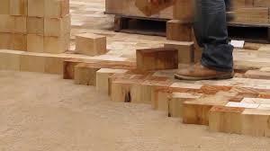 flooring wood paver alley chicago youtube block flooring