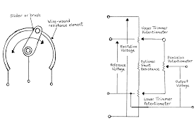 potentiometer pins wiring diagram components