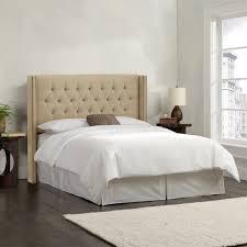 skyline 143nbbed king diamond tufted wingback nail bed homeclick com