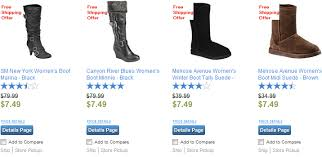 womens boots on clearance sears com s clearance boots starting at 4 99