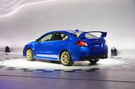 subaru wrx turbo 2015 2015 subaru wrx sti bows in detroit with a big wing and 305hp 2 5l