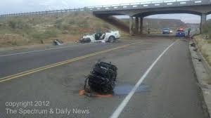 Black Mustang Crash Woman Miraculously Survives This Shelby Gt500 Crash Stangtv