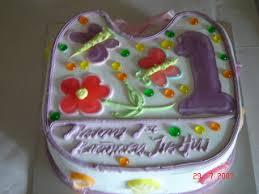 my precious baby jia hui cake cutting