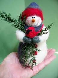 25 unique needle felted ornaments ideas on needle