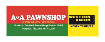 a a pawnshop and jewlery store western union money transfer