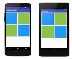 layouts for android android library for square layout how to make